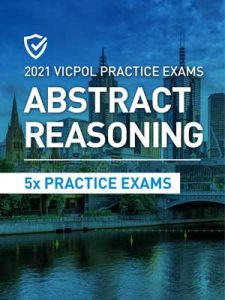 Cover image of the Abstract Reasoning Victoria Police Practice Exams