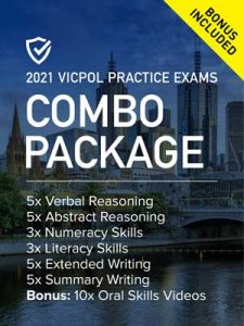 Cover image of the Combo Package Victoria Police Practice Exams