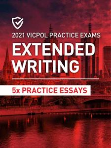 Cover image of the Extended Writing Victoria Police Practice Exams