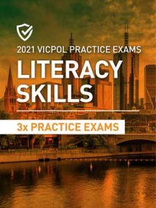 Cover image of the Literacy Skills Victoria Police Practice Exams