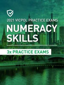 Cover image of the Numeracy Skills Victoria Police Practice Exams