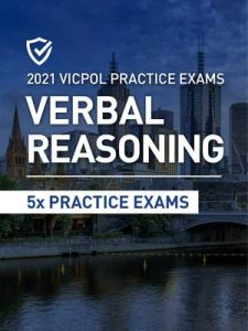 Cover image of the verbal Reasoning Victoria Police Practice Exams